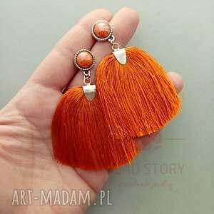 metal pędzelki pomarańczowe