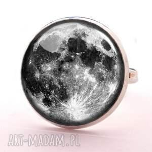 kolczyki sztyfty pełnia księżyca