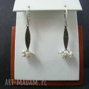 atrakcyjne kolczyki perły perełki