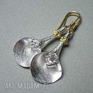 kolczyki srebro satynowe kalie 4 -