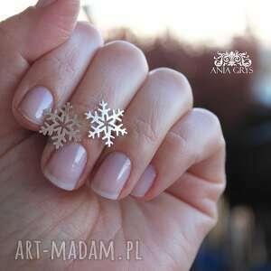 gwiazdki śnieżynki na sztyfcie