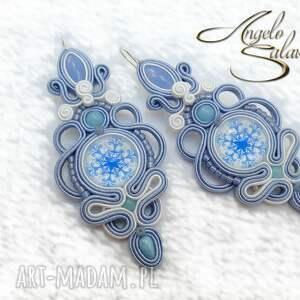 kolczyki sutasz - śnieżne piękności