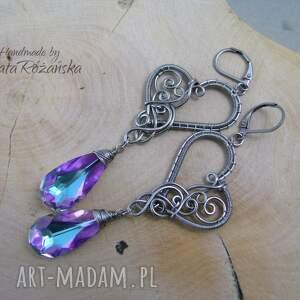 swarovski kolczyki crystal vitrail