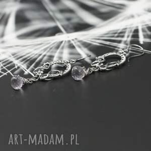 biżuteria wire wapping kolczyki wrapping shirru