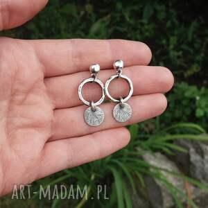 kolczyki srebro wiszące 925