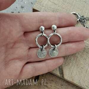 kolczyki wiszące srebro 925