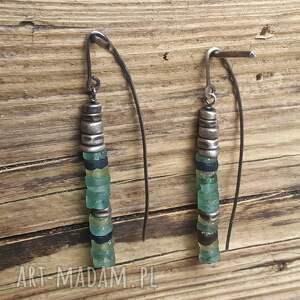 modne-kolczyki kolczyki ze srebra i antycznego