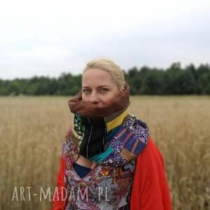 etno komin boho patchworkowy
