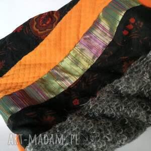 atrakcyjne kominy komin patchworkowy boho handmade