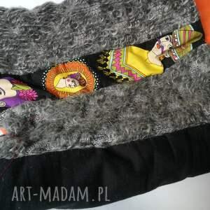 kominy etno komin patchworkowy boho handmade