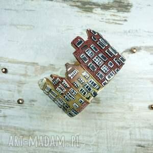 domki komplety brązowe biżuteria amsteram