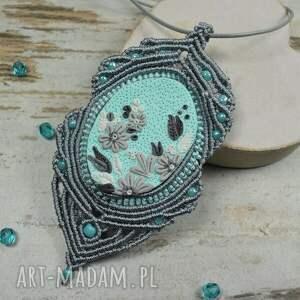 turkusowe elegancka biżuteria elegancki komplet biżuterii