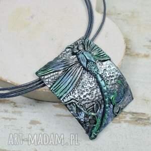 srebrne komplety ważka komplet biżuterii ważki