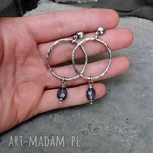 komplety biżuteria-srebrna komplet biżuterii - srebro i kwarc