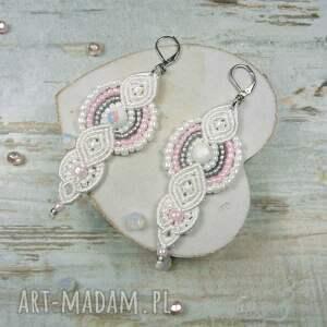 kolczyki komplety komplet biżuterii ślubnej