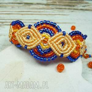 hand-made komplety oryginalna komplet biżuterii z koralików