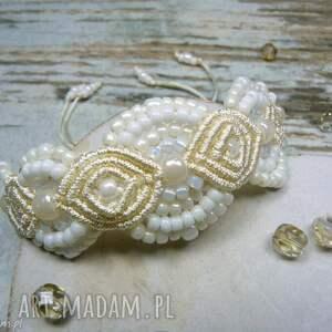 komplety makrama komplet biżuterii ślubnej