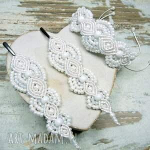 gustowne komplety komplet-ślubny komplet biżuterii ślubnej