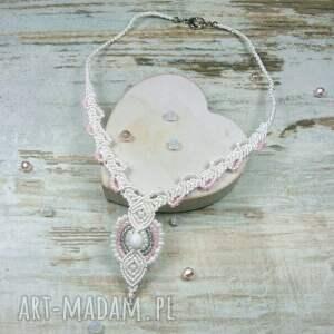 komplety kolczyki komplet biżuterii ślubnej