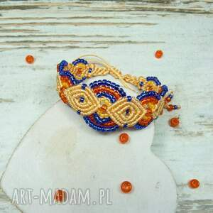 komplety oryginalna komplet biżuterii z koralików