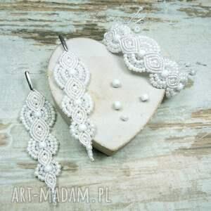 gustowne komplety ślub komplet biżuterii ślubnej