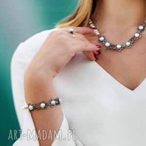 komplety komplet-srebrny komplet biżuterii srebrnej