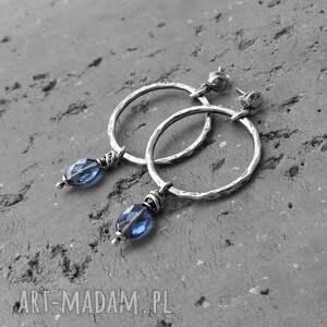 srebro komplet biżuterii - i kwarc