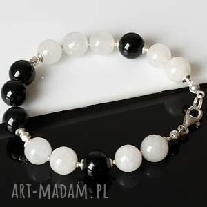 srebro komplet black&white