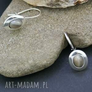 srebrne komplety srebrny komplet kolczyki i zawieszka