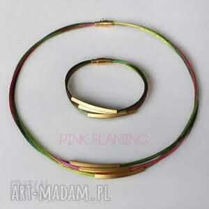 komplety jungle komplet pink flaming