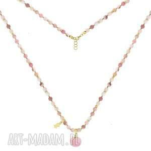 trendy komplety opal komplet z różowymi pomponami - i ♥