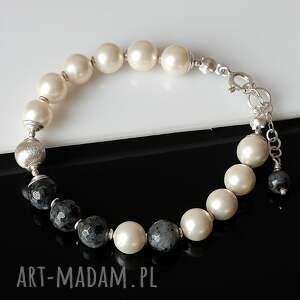 trendy komplety larvikit w perłach