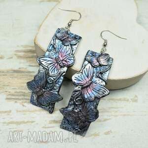 komplety motyle - komplet biżuterii