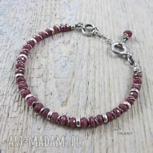 bransoletka komplety rubin - kobieco (komplet)