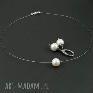 komplety perła na linie