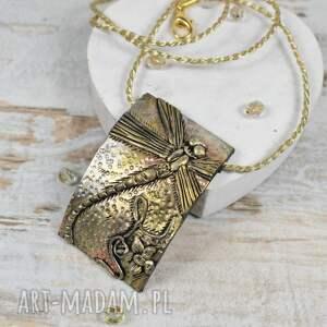 ważki biżuteria komplet biżuterii z motywem
