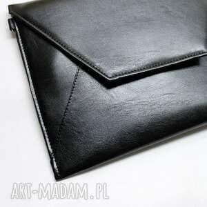 intrygujące elegancka torebka wykonana z wysokiej jakości skóry
