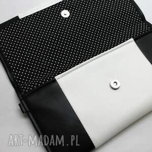 listonoszka kopertówka - czarna i środek