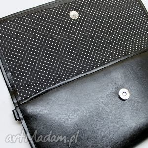 kopertówki połysk kopertówka - czarna