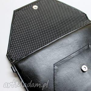 wesele kopertówka - czarna z perłowym