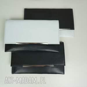 niepowtarzalne kopertówki kopertówka koperta manzana black &