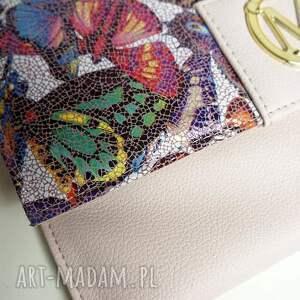 koperta kopertówka manzana - róż