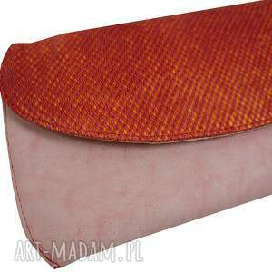 efektowne kopertówki manzana kopertówka skóra naturalna