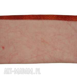 efektowne kopertówki kopertówka manzana skóra naturalna