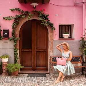 handmade kopertówki wiosna kopertówka pink fsioin