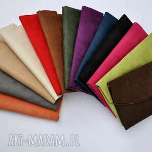 trendy kopertówki kopertówka z alcantary - wybór