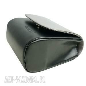 torebka kopertówki czarne mini kopertówka koperta manzana