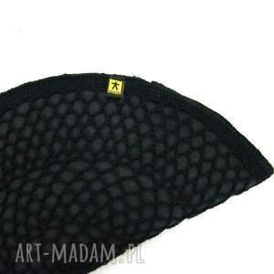 handmade kopertówka torebka czarny