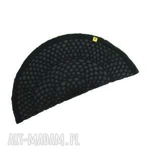 torebka kopertówka czarny pierożek:) - imprezowa elegancka