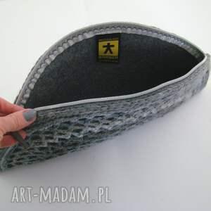 ręcznie zrobione kopertówka torebka - pierożek w